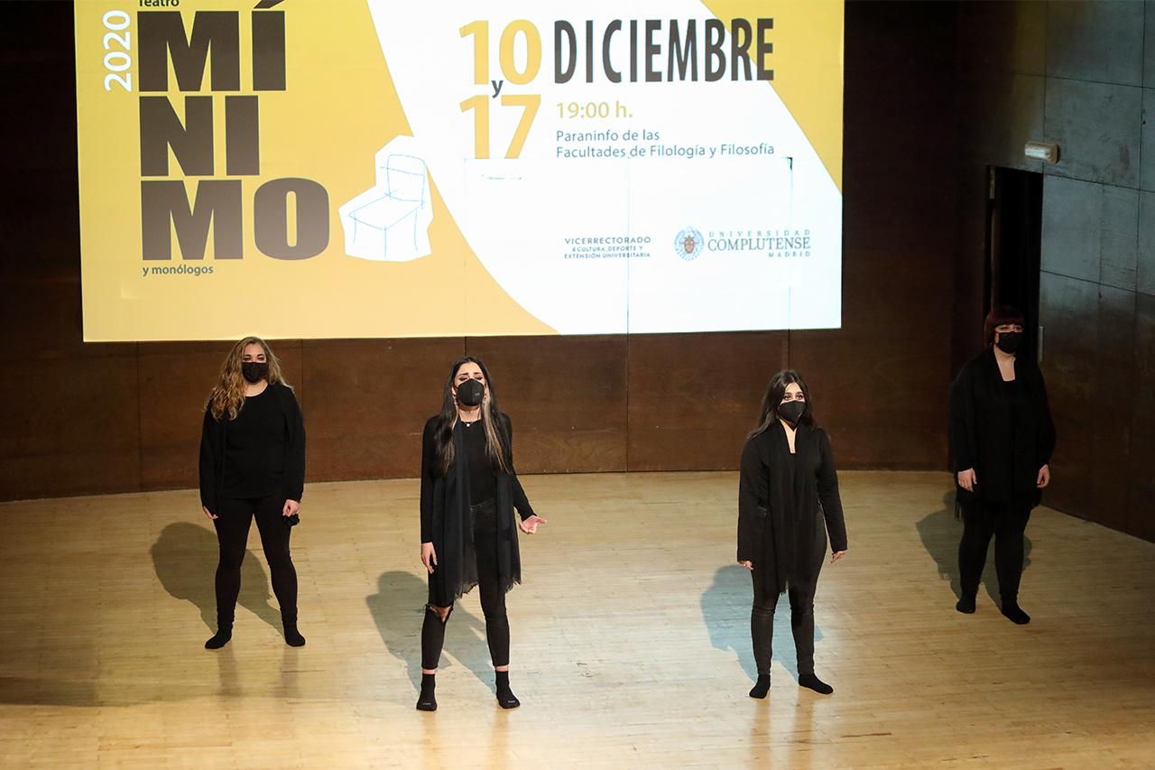 """Teatro por necesidad, interpretando """"Fragmentos de un relato de pandemia"""""""