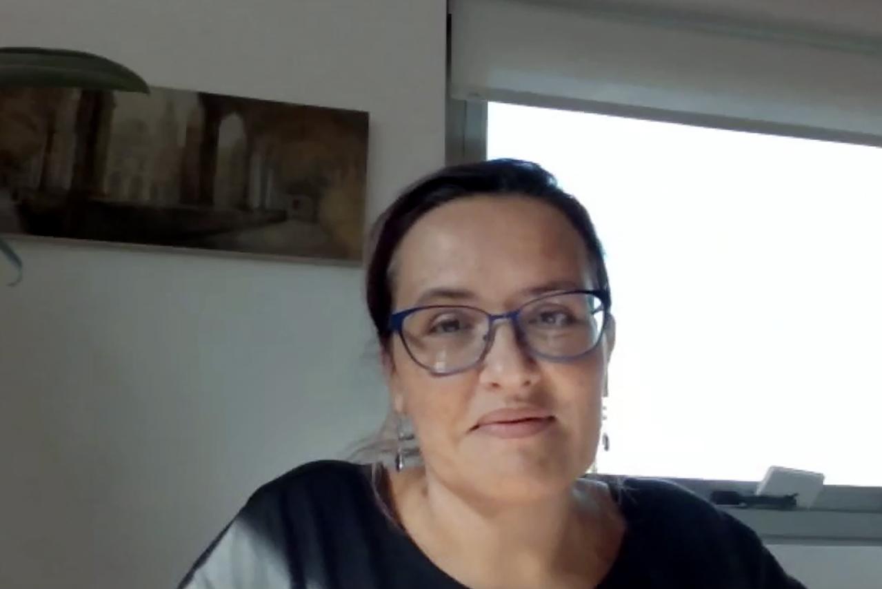 Rosa María de la Fuente Fernández, vicerrectora de Estudiantes de la Universidad Complutense