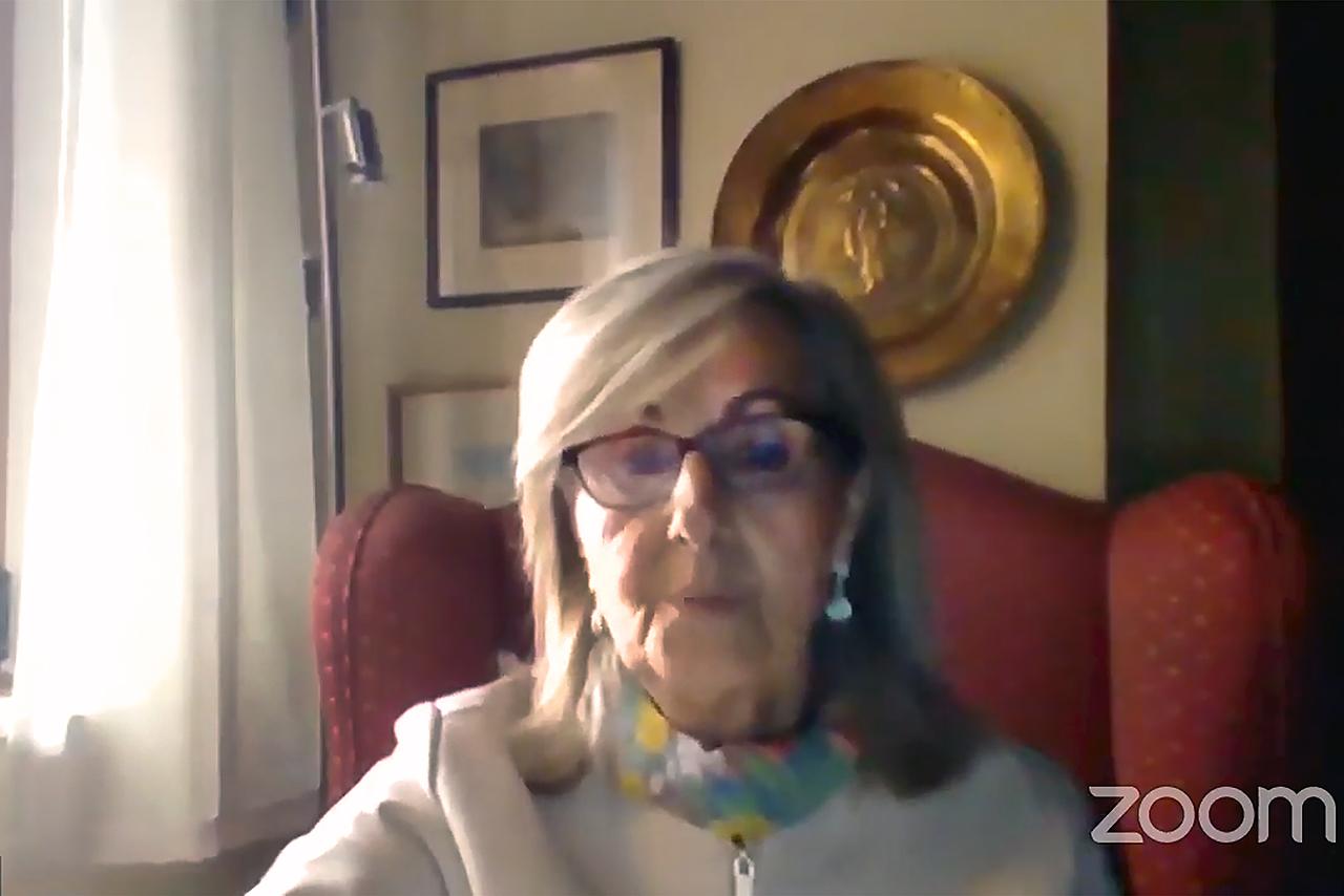 Concepción Ornosa, profesora del Departamento de Biodiversidad, Ecología y Evolución de la Facultad de Ciencias Biológicas de la UCM
