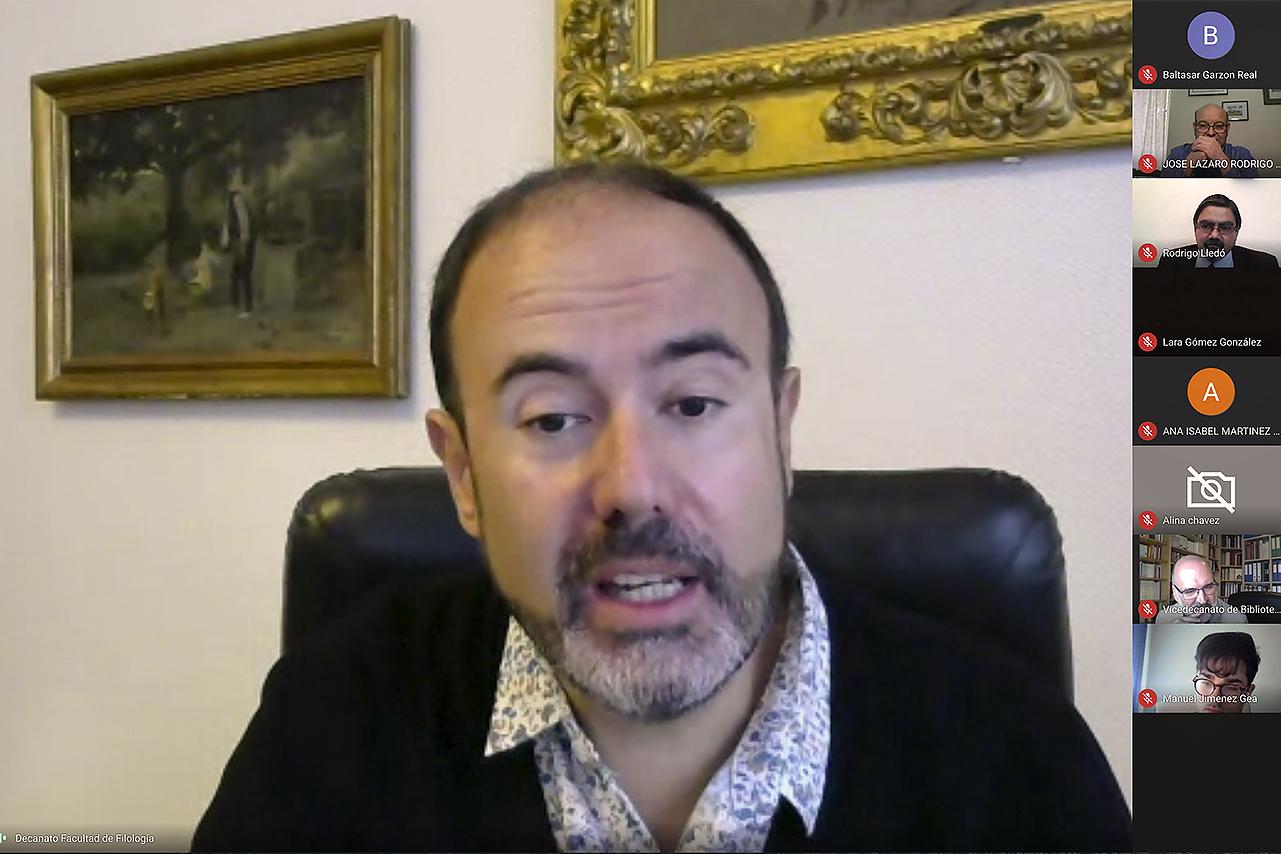 Eugenio Luján, decano de la Facultad de Filología