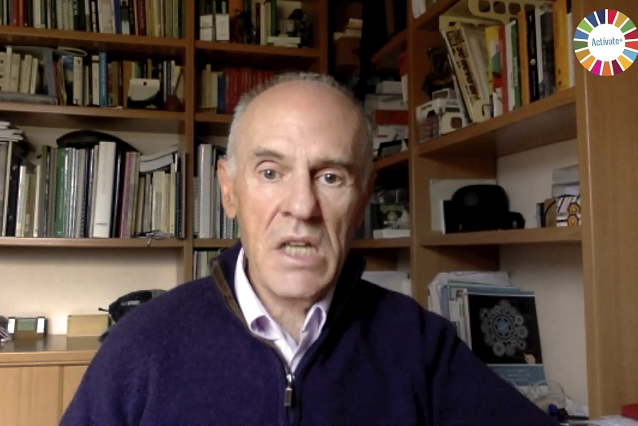 Juan Carlos Barrios, responsable de la sección española de la red internacional Global Action Plan (GAP)