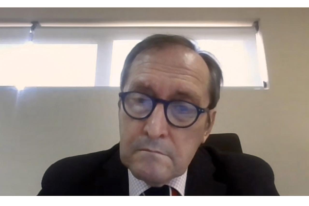 Dámaso López, vicerrector de Relaciones Internacionales y Cooperación