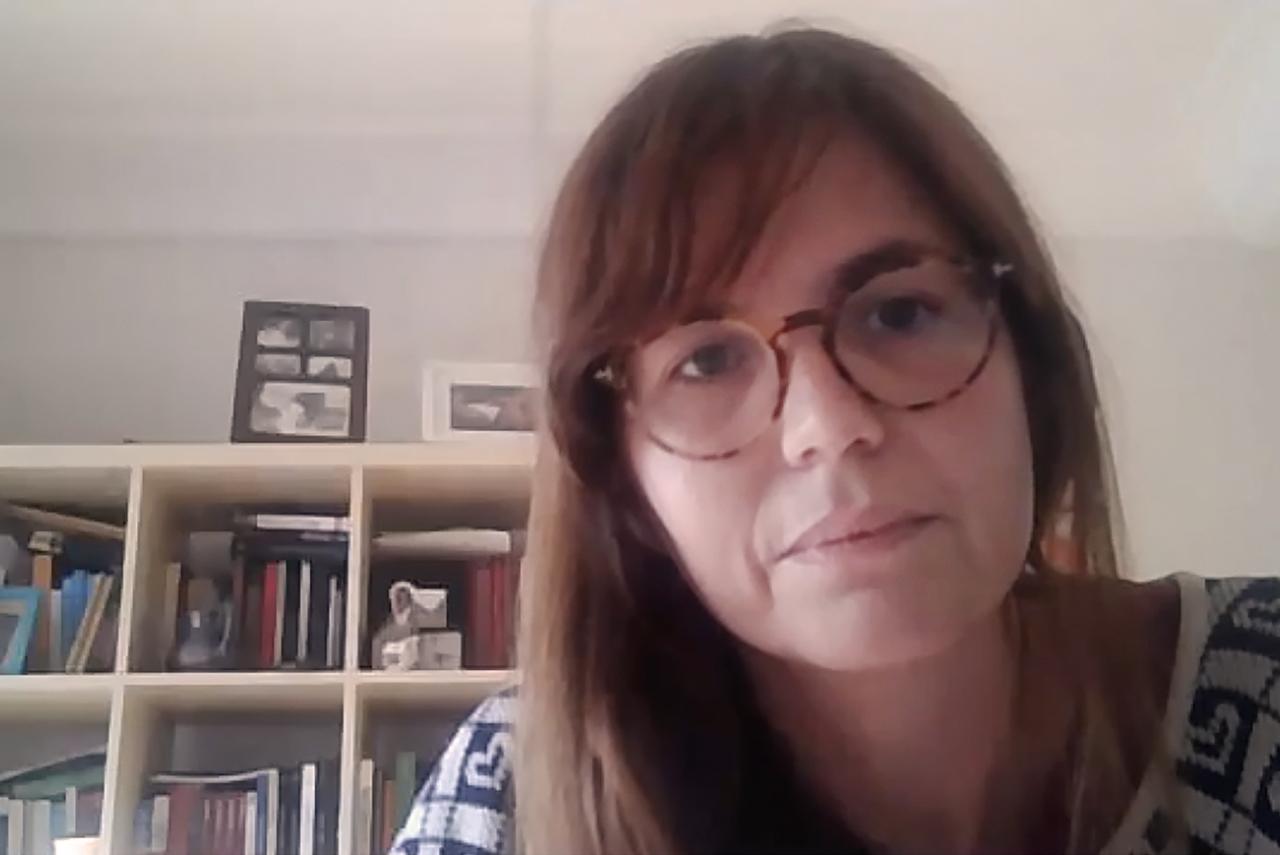Laura Nuño de la Rosa, investigadora postdoctoral Juan de la Cierva, de la Facultad de Filosofía