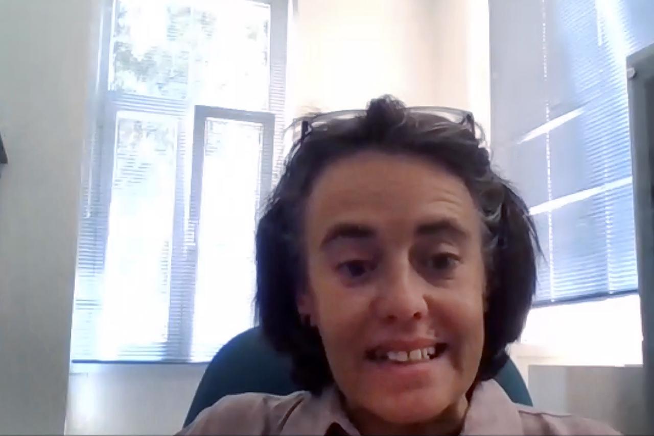 Elena Santos Ureta, bióloga complutense e investigadora postdoctoral del Centro UCM-ISCIII de Evolución sobre el Comportamiento Humano