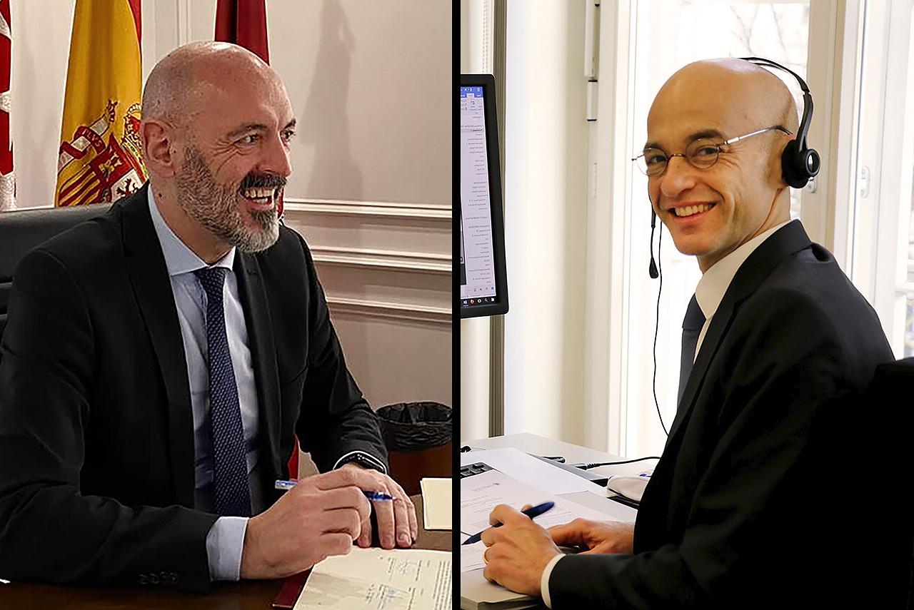 Renovación del convenio de la Doble Titulación Internacional en Administración y Dirección de Empresas con la HWR-Berlín