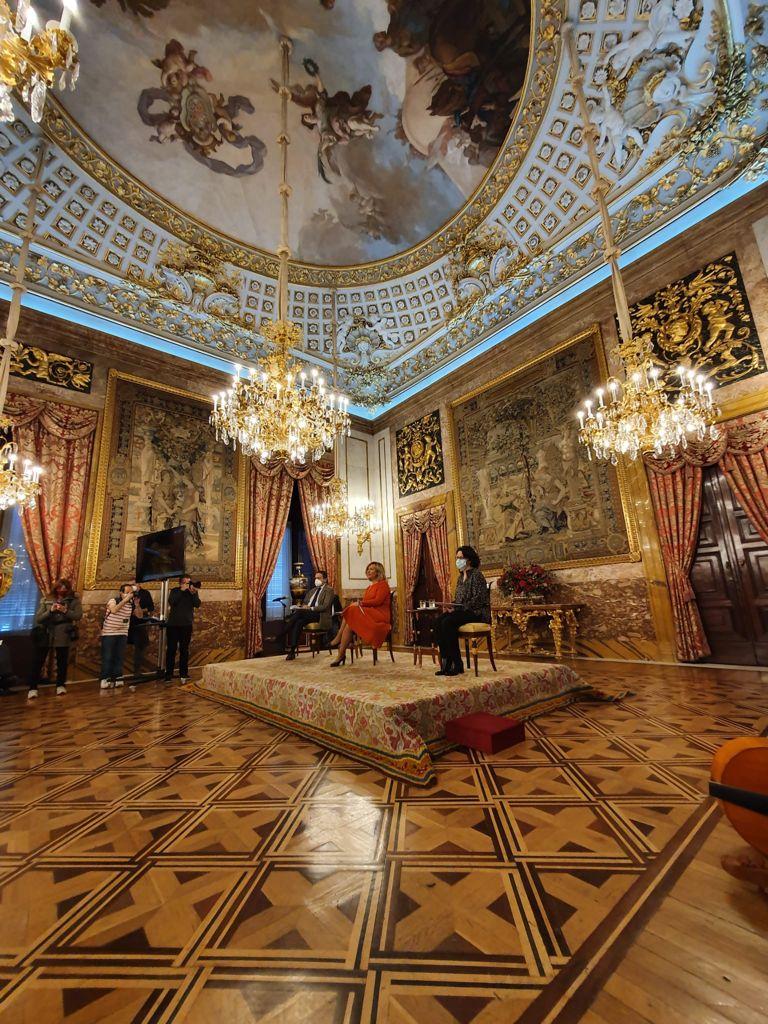 Un momento de la presentación de la programación musical de Patrimonio Nacional. Fotografía: Patrimonio Nacional