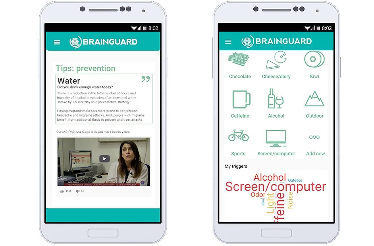 La app de Brainguard permitirá poner en contacto estrecho a los neurólogos con los pacientes