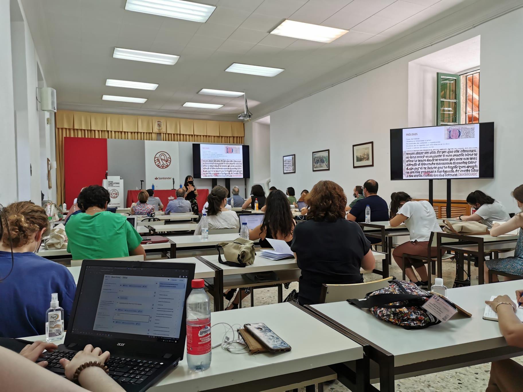 """Curso """"Libros, mediadores y redes sociales en tiempos de Alfonso X (1221-2021)"""""""