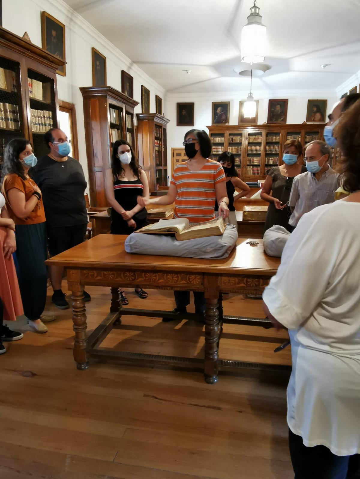 Visita a la Biblioteca del Monasterio de El Escorial
