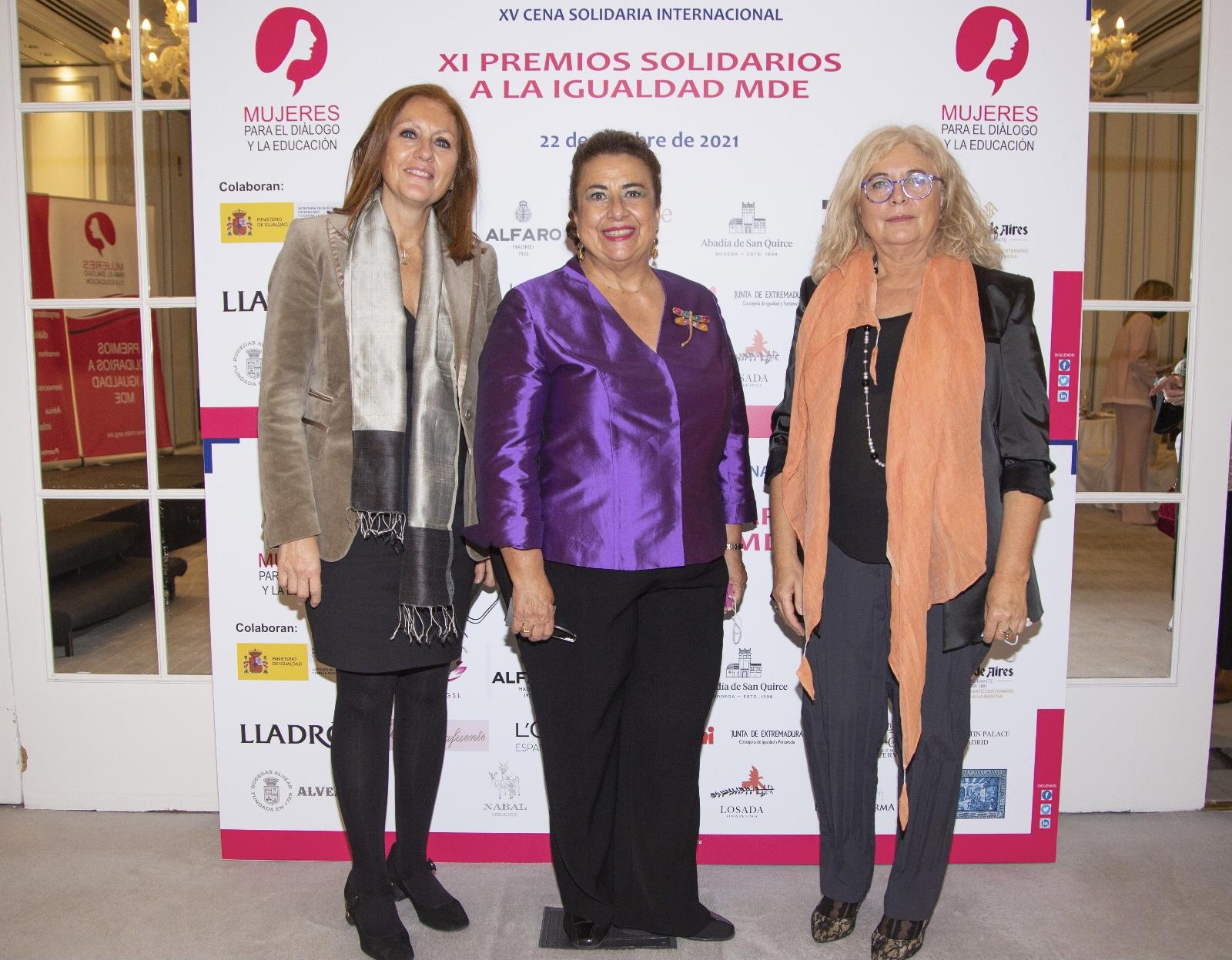 La Complutense, reconocida como la Institución más comprometida con la mujer en los XI Premios Solidarios a la Igualdad