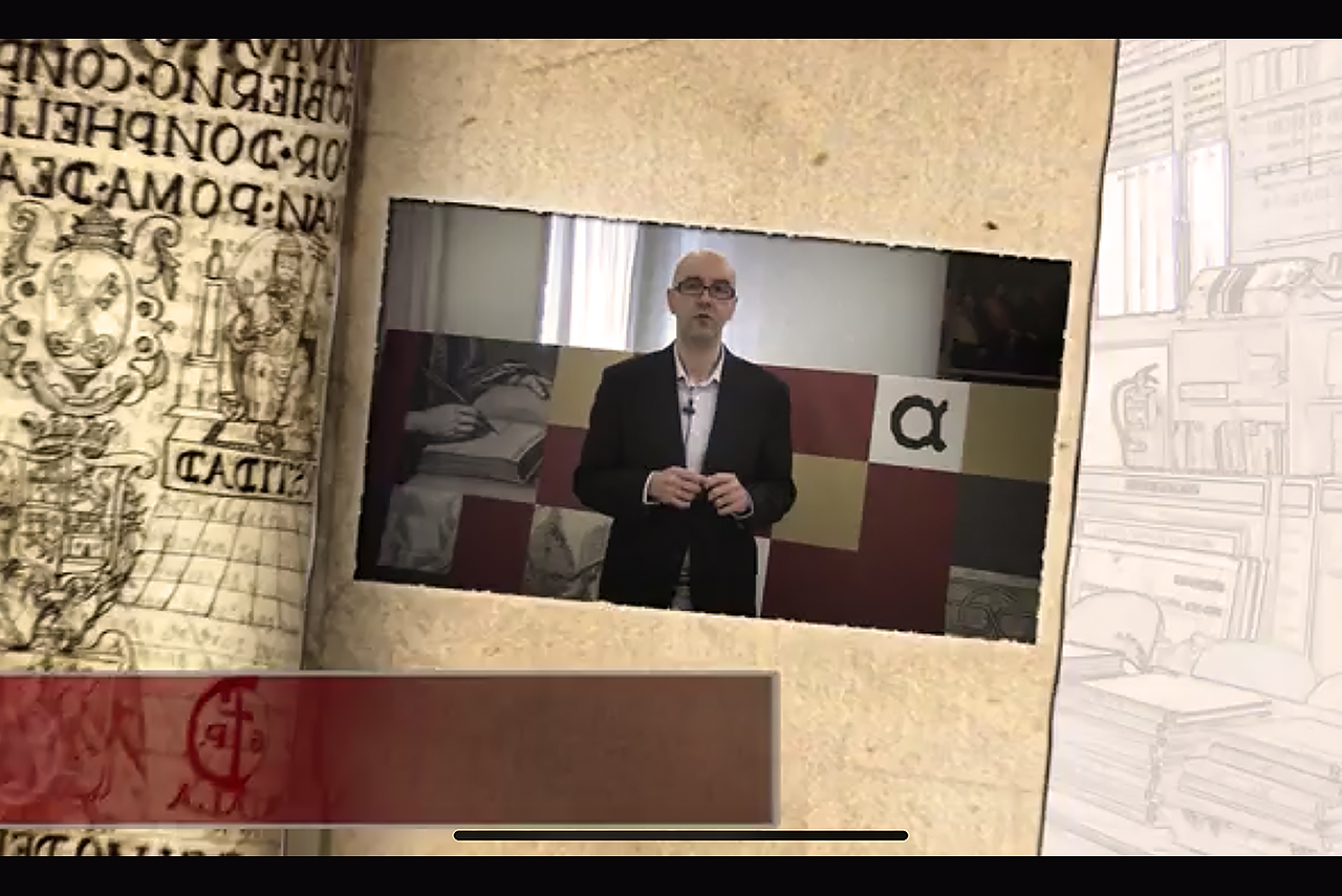 Captura del MOOC que dirige el profesor Manuel Salamanca