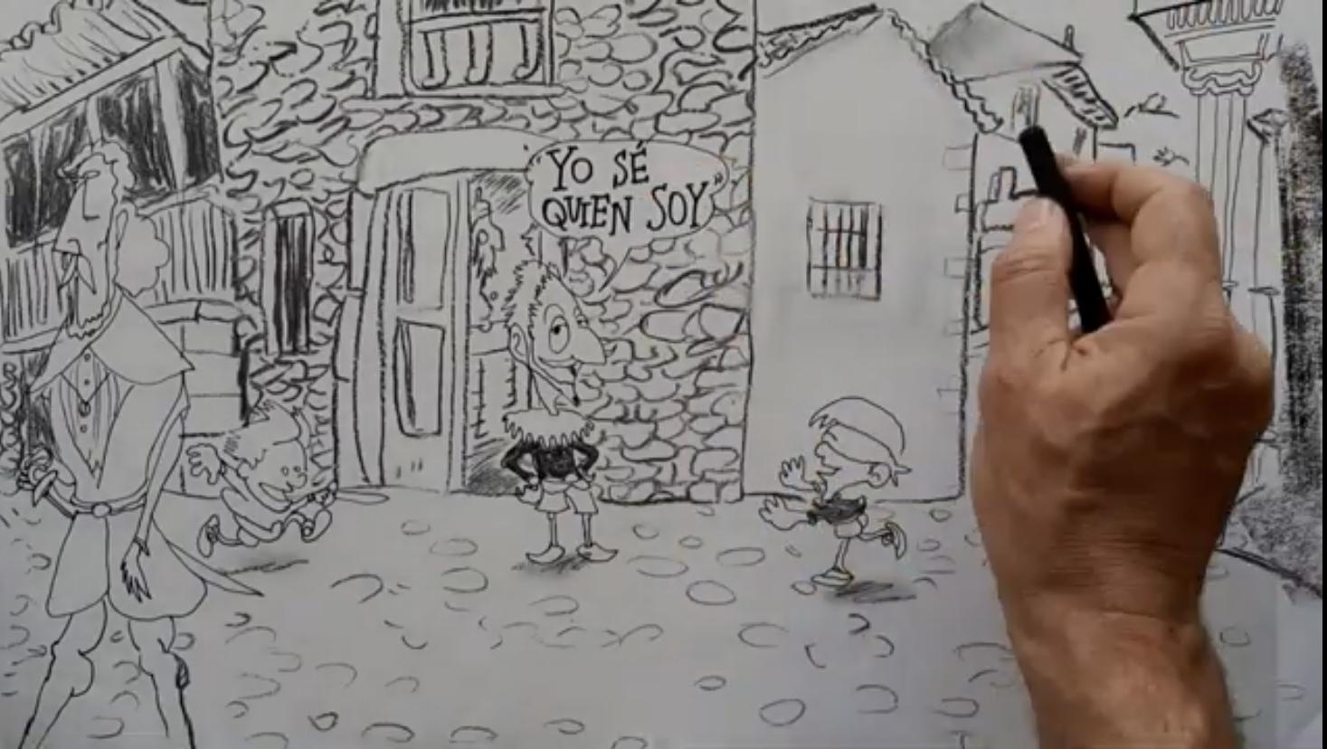"""Las espectaculares """"Confesiones Cervantinas"""" del catedrático José Manuel Lucía Megías y el ilustrador Miguel Rep"""